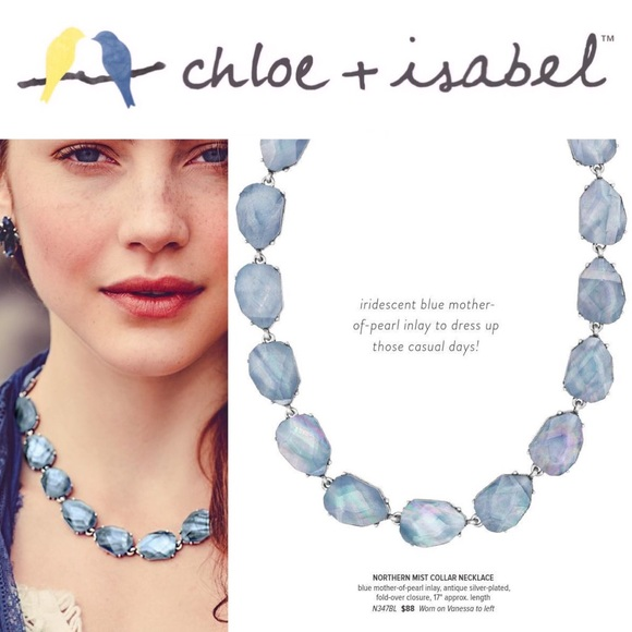 Chloe + Isabel Other - 🆕💙 Northern Mist Collar Necklace c+i N347BL